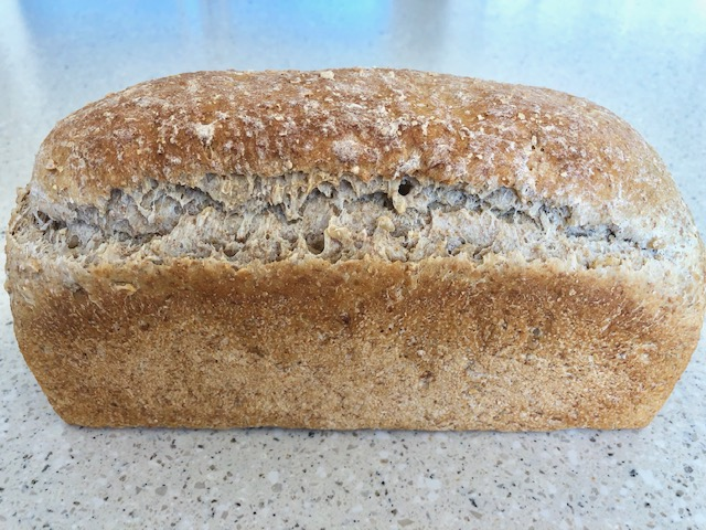 Storing Bread Wholemeal Loaf