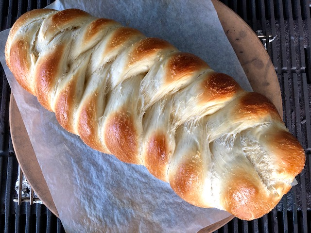 Challah Bread Baked